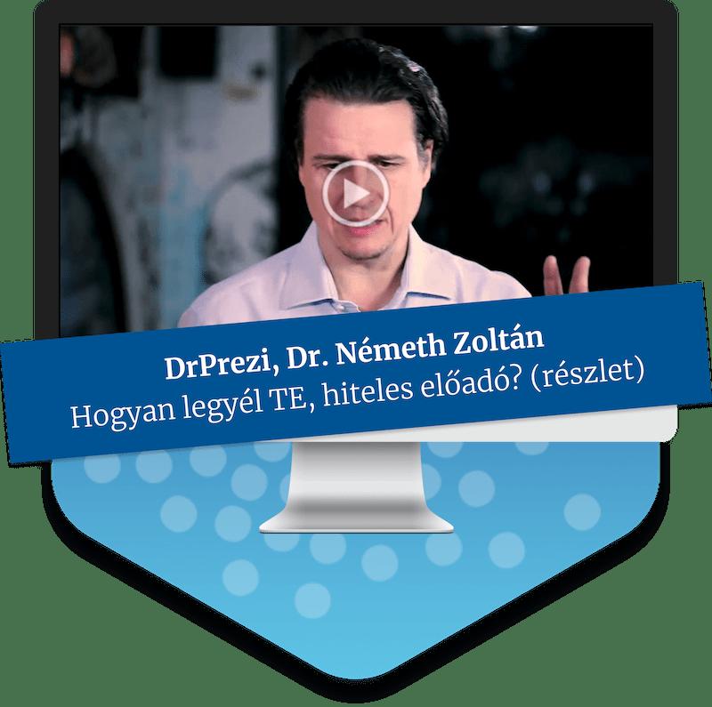 Dr.Prezi - hiteles és hatásos előadó tréning